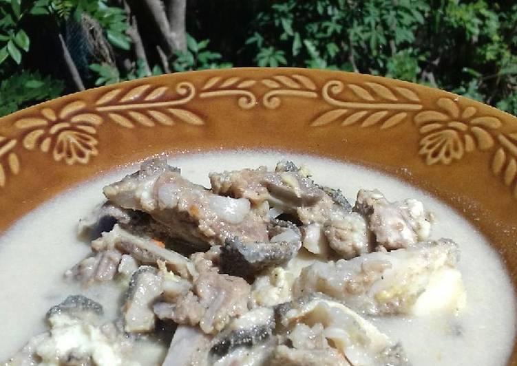 Gulai kambing segar