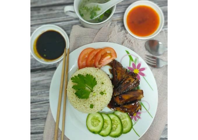 Nasi Ayam Madu Bakar