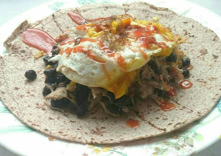 Recipe: Delicious Super Breakfast Burrito