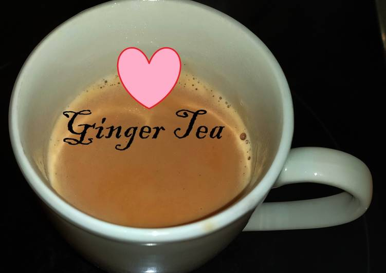 Recipe of Any-night-of-the-week Ginger tea / Adrak Chai