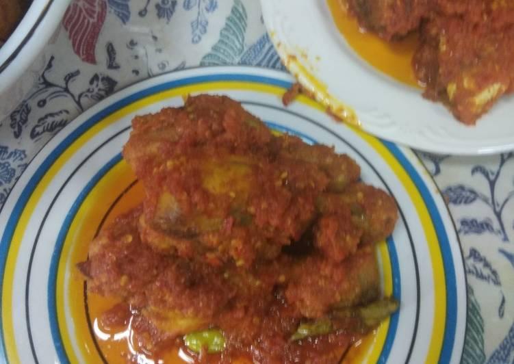 Paha Ayam Balado
