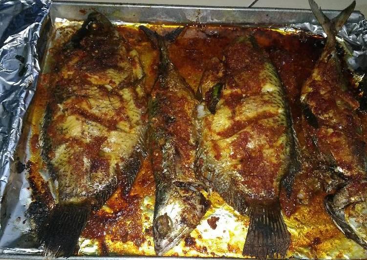 Resep Ikan Panggang Oven Oleh Anne Putri Amelia Cookpad