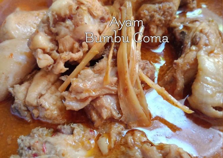 Ayam bumbu *Coma
