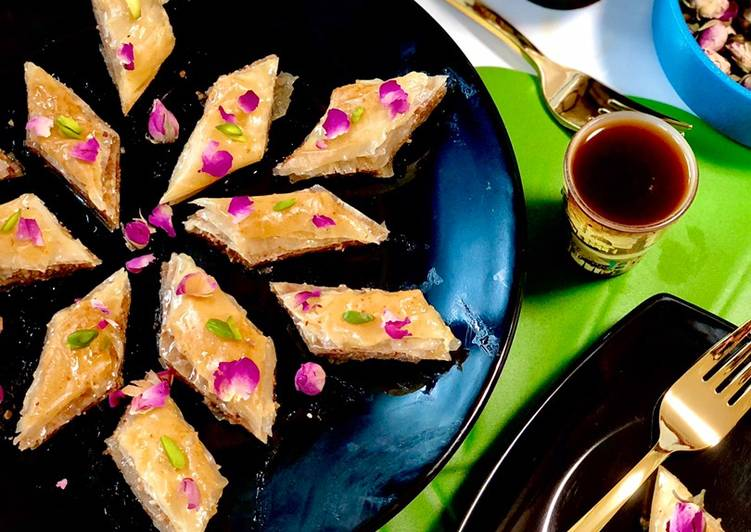 Recipe of Any-night-of-the-week Filo Pastry Baklava