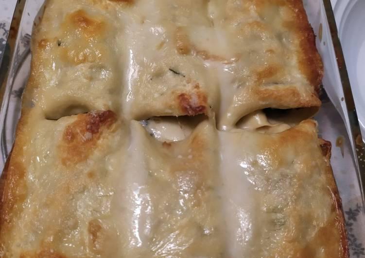 Recipe: Yummy Rotoli di lasagne