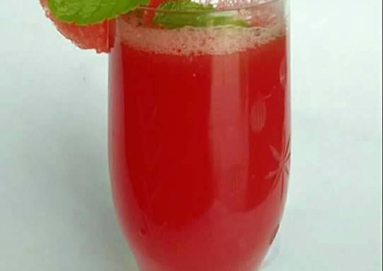 Recipe: Delicious Watermelon juice