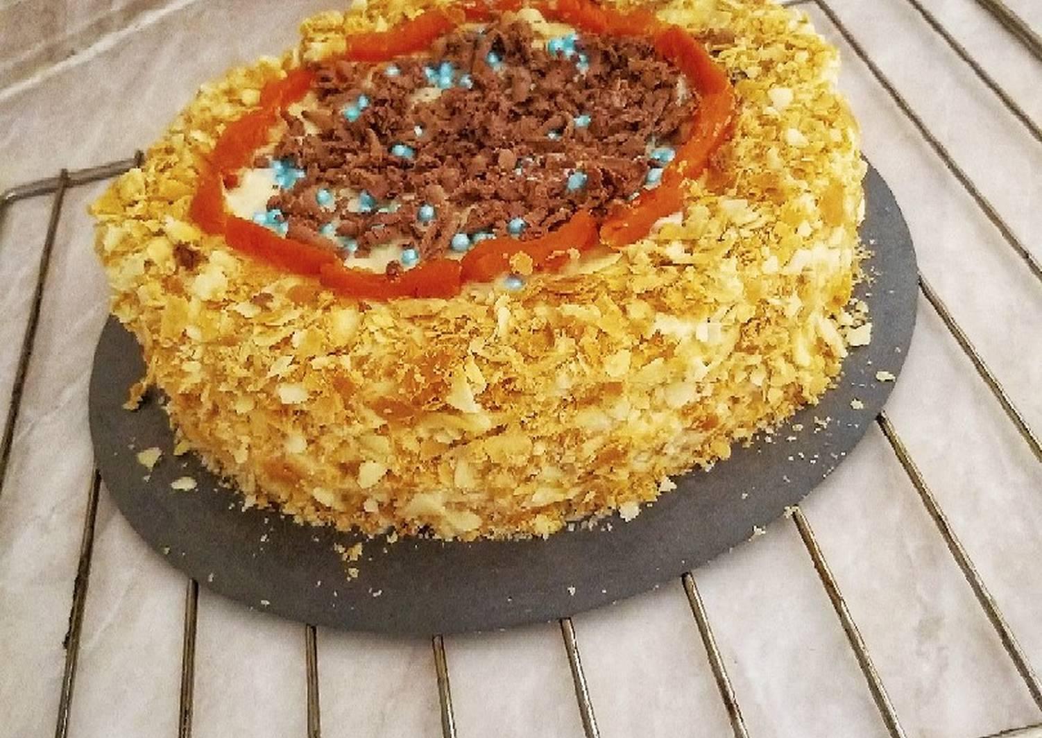 Торт наполеон без яиц рецепт с фото любимой