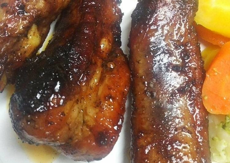 Recipe: Delicious Sticky Maple Ribs in a skillet of cast-iron batch 88