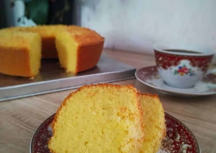 resep membuat Bolu Singkong Keju Panggang - Sajian Dapur Bunda