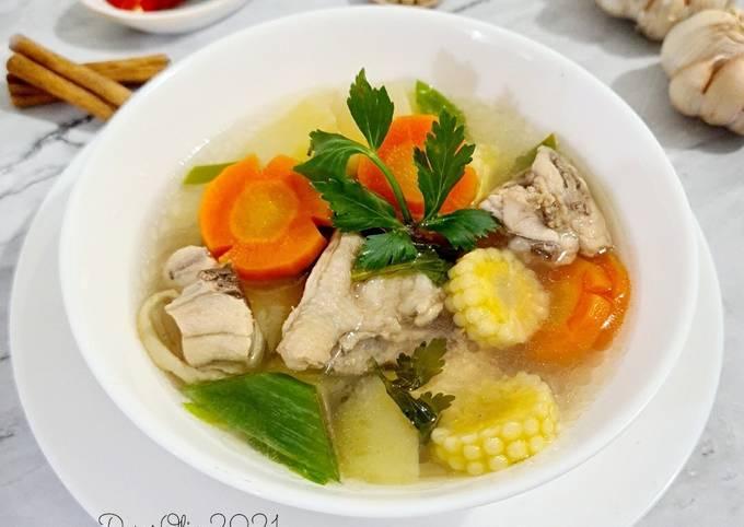 Sup Ayam Pak Min Klaten