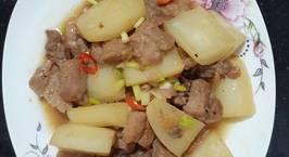 Hình ảnh món Thịt heo kho củ cải trắng