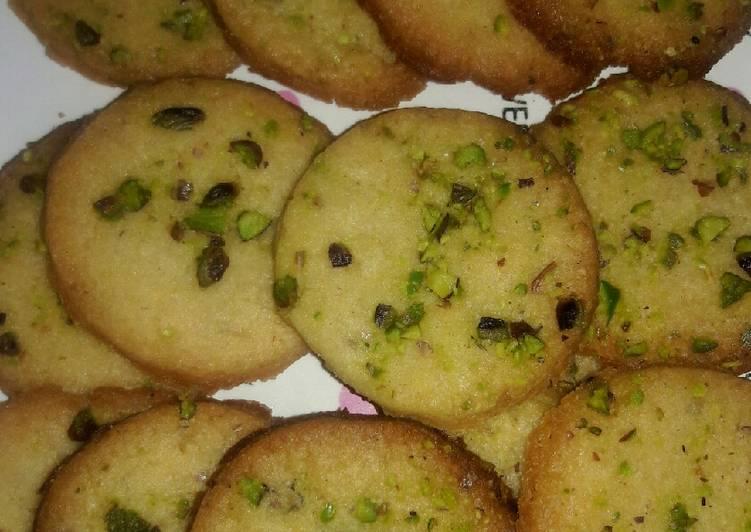 Easiest Way to Make Speedy Saffron Pistachios Cookies