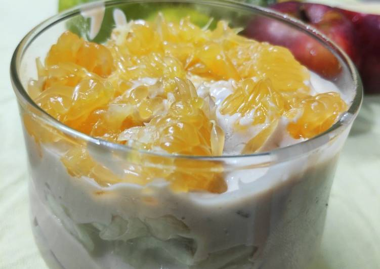 How to Make Most Popular Fruits & Ice-cream trifle