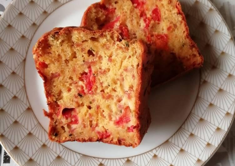 Cake jambon/tomate