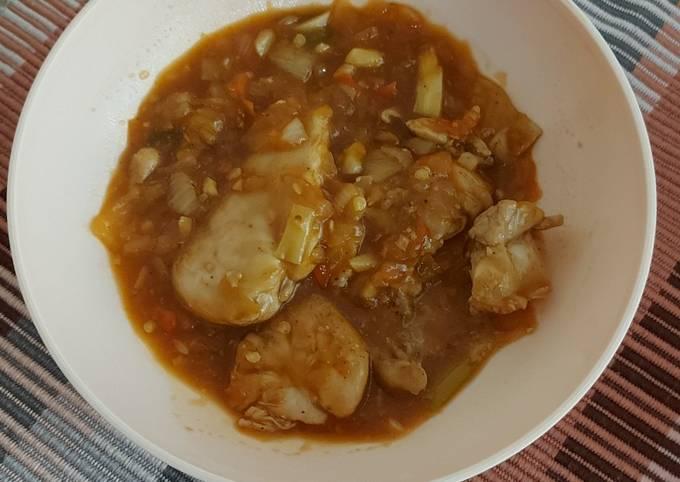 Resep Ayam Rica Pedas (Menu Diet), Dijamin Endes