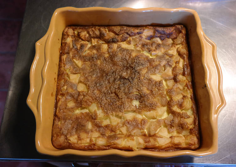 How to Make Yummy Clafouti aux poires (de la ruche)