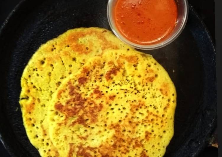 Recipe of Any-night-of-the-week JAGGERY PANCAKES/SURNELI