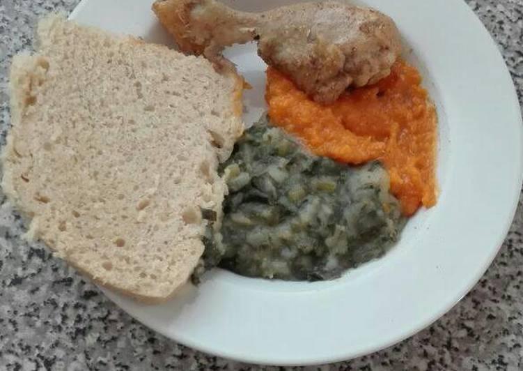 Recipe of Quick Tasty spinach