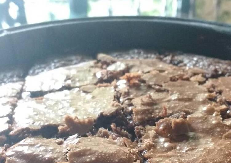 Simple chocolate brownies