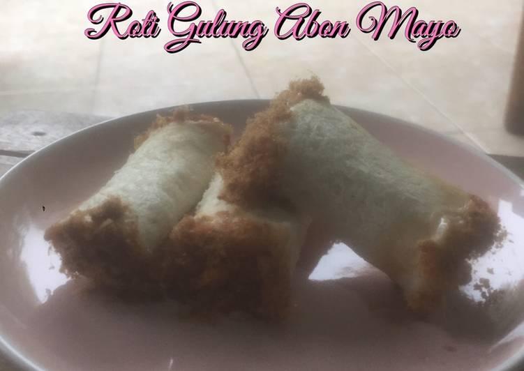Roti Gulung Abon Mayo
