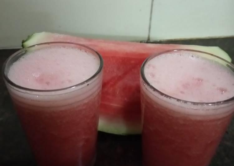 Recipe: Perfect Watermelon Rose juice