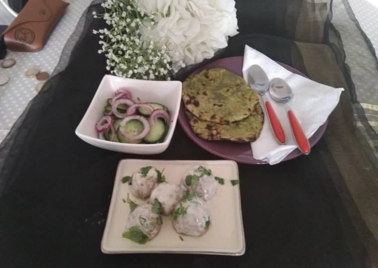 Easiest Way to Prepare Favorite Shahi cauliflower kofta in white curry