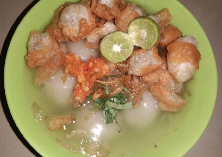 Cilok Kuah Siomay