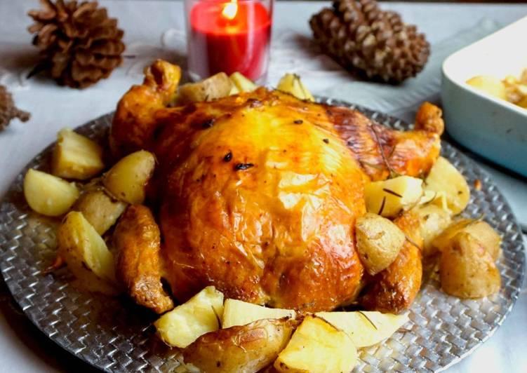 Pollo Relleno Para Navidad El Pollo Relleno De Mi Madre
