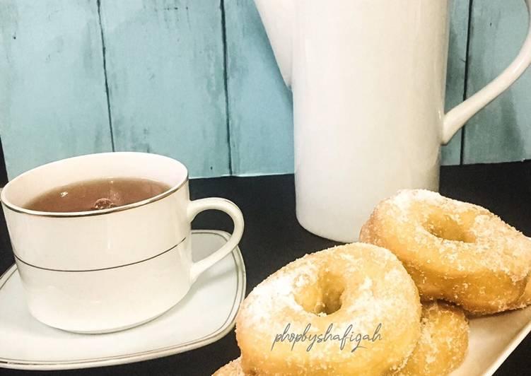 Cara Mudah Masak: Donut Gebu Cik Summayyah  Sempena PKP