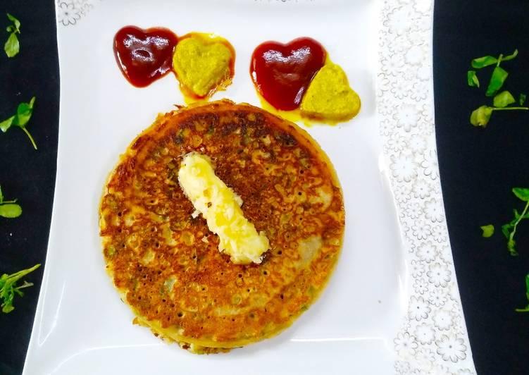 Steps to Prepare Perfect Fenugreek Banana Pancakes