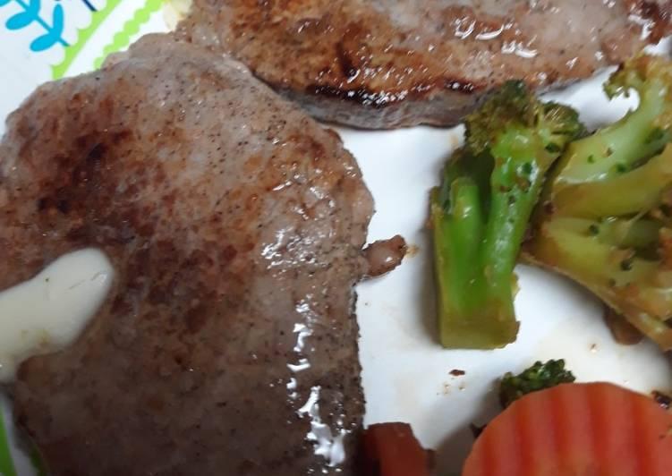 Black Angus Round Eye Steak
