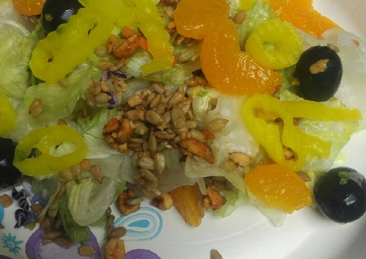 Lettuce and Mandarin Orange Salad