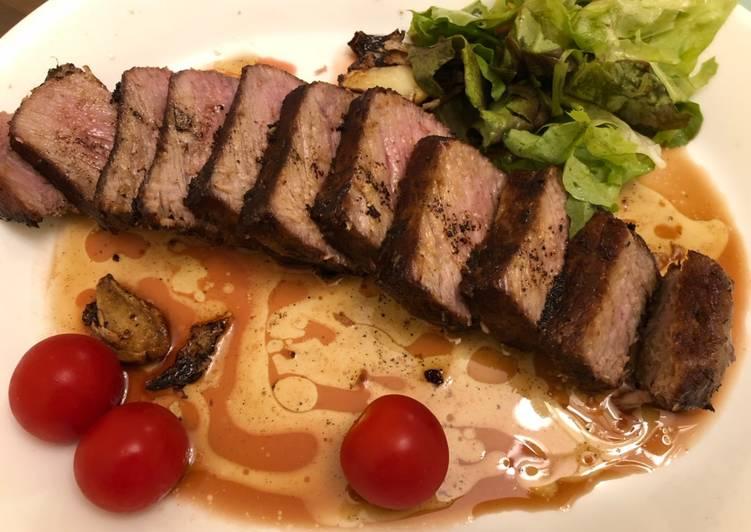 Rib eye steak 🥩
