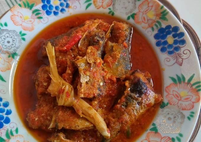 Ikan Bumbu Sarden (masakan rumah sederhana)