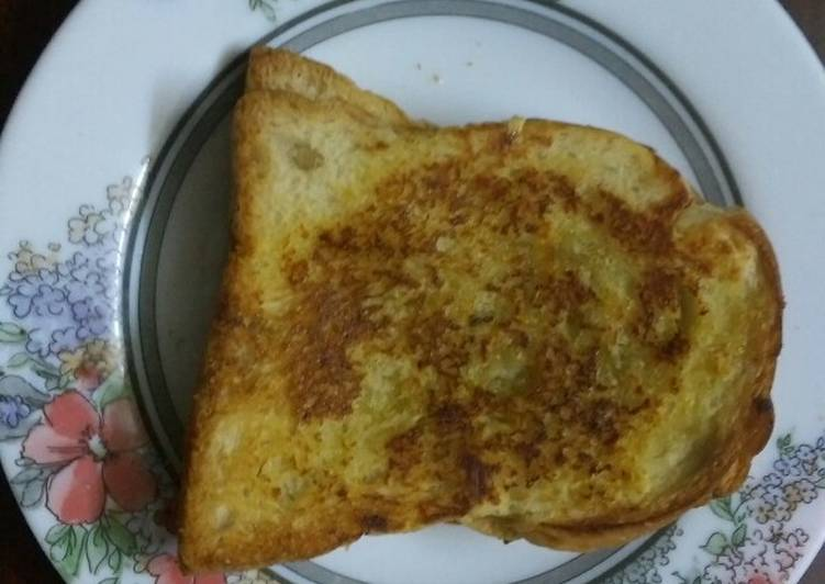 Recipe of Quick Toasted Garlic bread