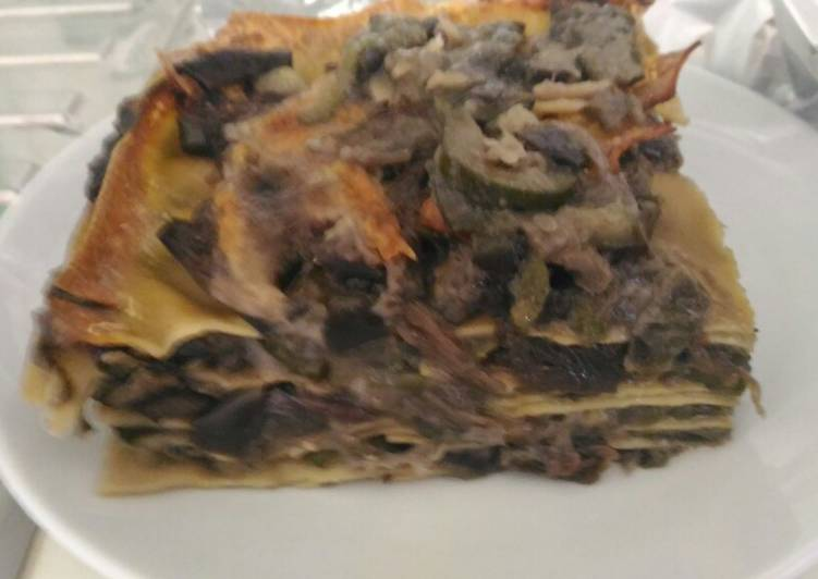 Easiest Way to Cook Delicious Lasagna with vegetables