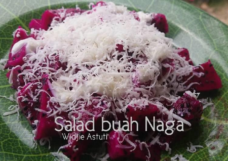Salad Buah Naga #SaladAction