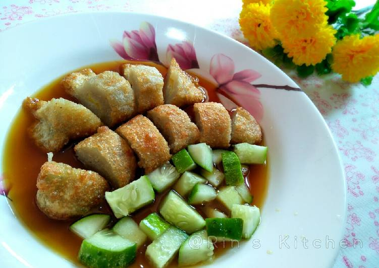 Steps to Make Any-night-of-the-week Pempek Teri (Anchovy Fishcake)