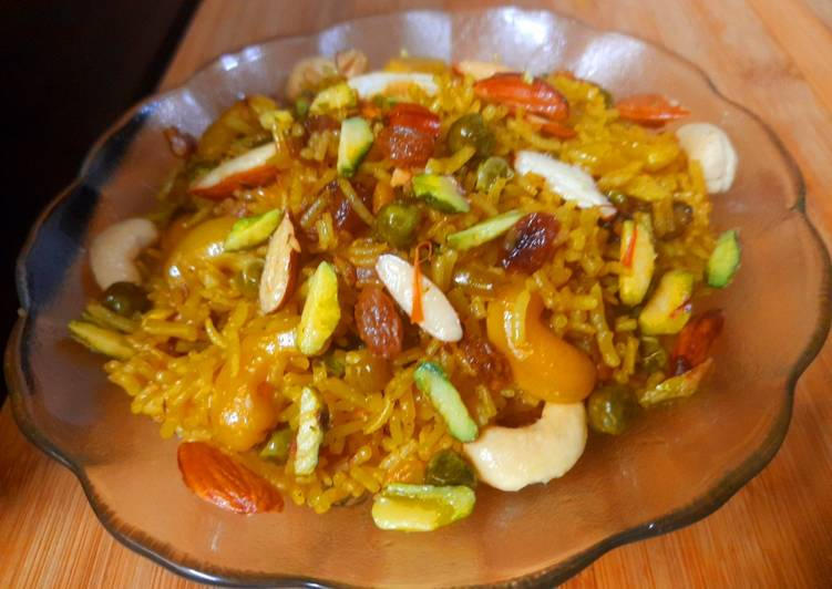 Recipe of Ultimate Mishti Pulao
