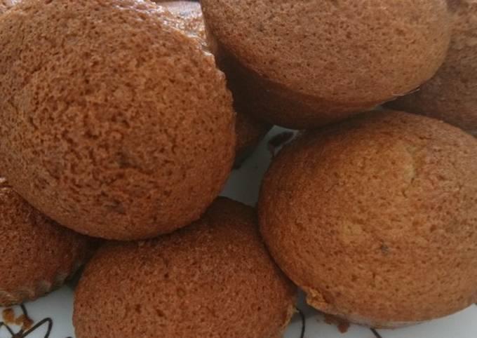 Muffins au lait de noisettes