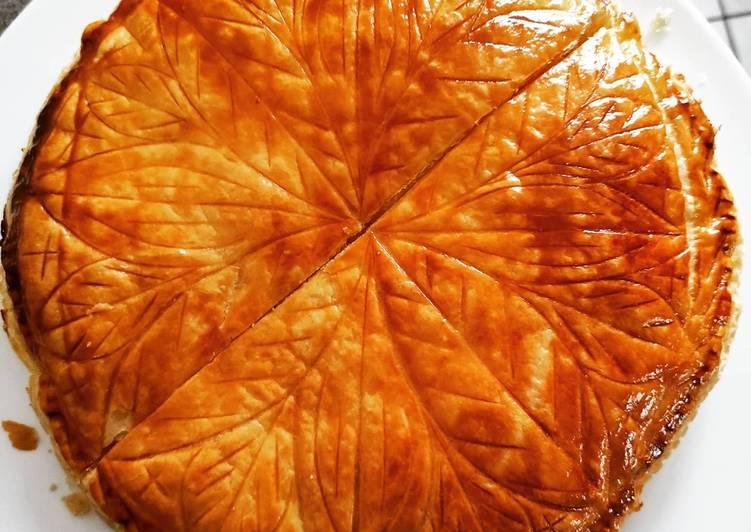 Recipes  Galette des rois à la frangipane
