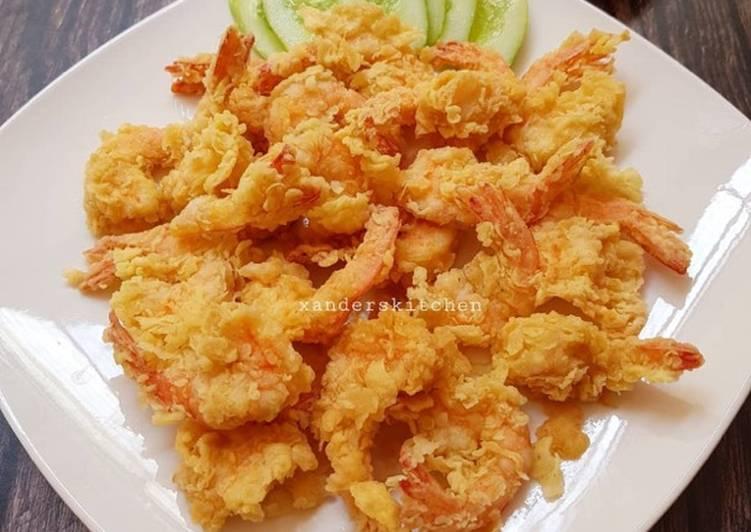 Udang goreng tepung ala xander kitchen