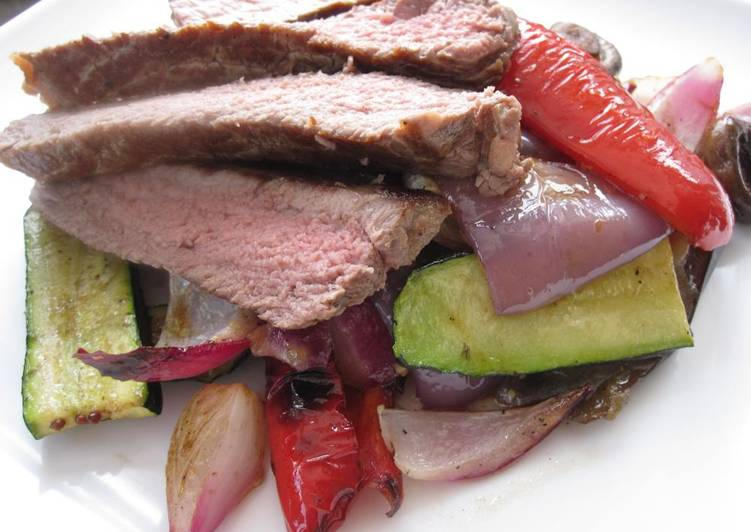 Recipe: Yummy Steak salad