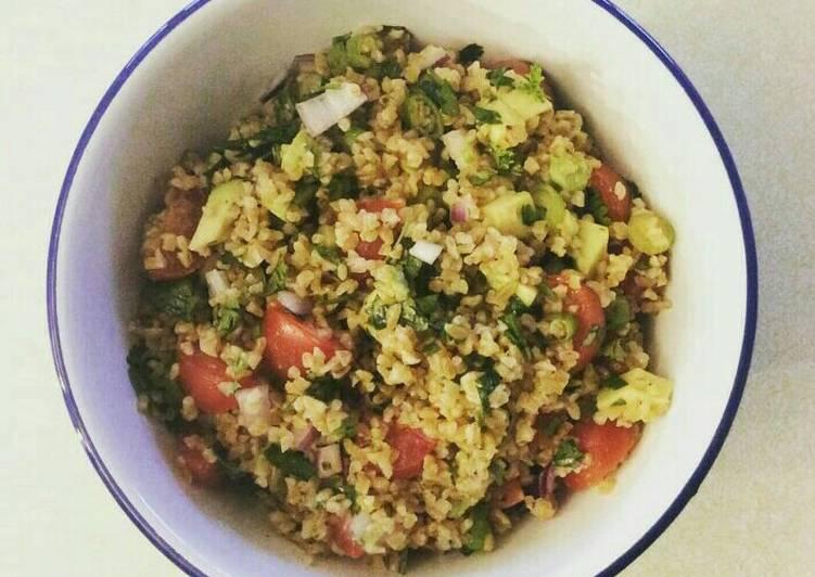 Recipe of Super Quick Homemade Tabbouleh