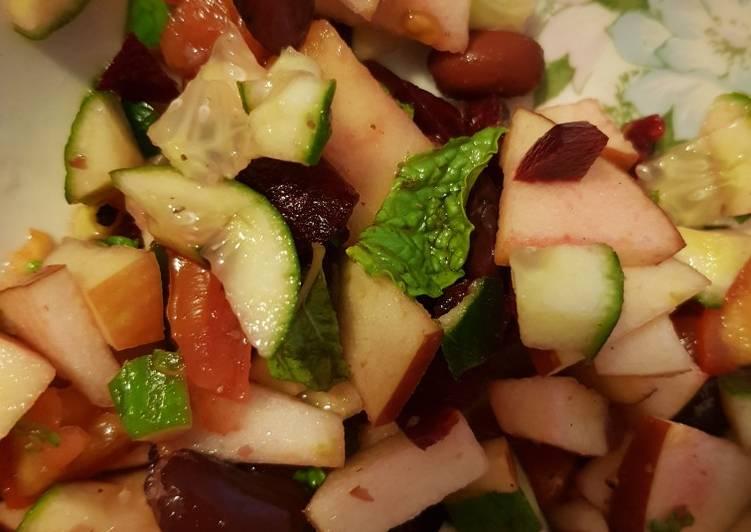 Easiest Way to Prepare Top-Rated Healthy Kidney bean salad