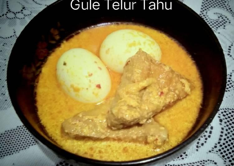 Gule Telur Tahu