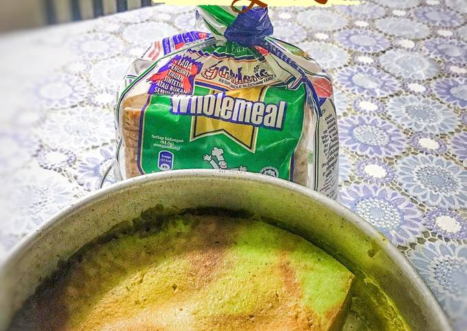Puding Roti Wholemeal