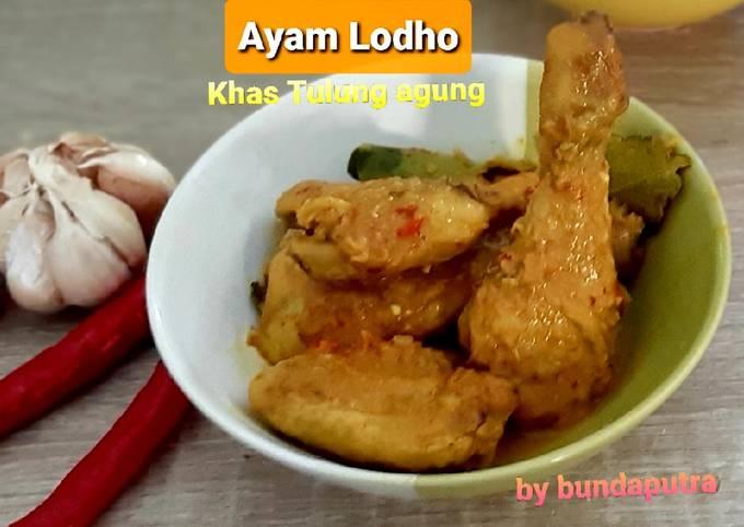 Resep Ayam Lodho Khas Tulungagung yang Lezat