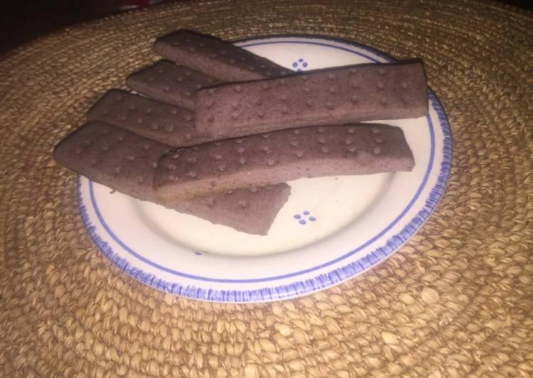 Recipe of Award-winning Purple shortbread