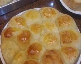 Roti bantal /roti manis/ roti tanpa isi